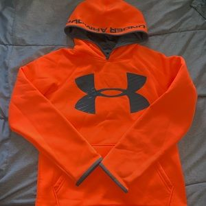Under Armour youths Storm1 Loose Fit Hoodie